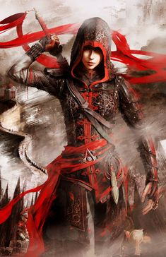 Assassin's Creed Chronicles China Shao Jun Poster by MatrixUnlimited.deviantart.com on @deviantART