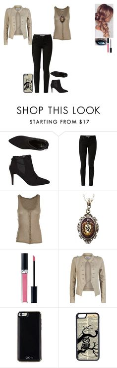 """""""Musical Alphabet Challenge: Day 24"""" by ilovecats-886 ❤ liked on Polyvore featuring Dorothy Perkins, American Vintage, Alkemie, Christian Dior, ONLY, Gooey and CellPowerCases"""