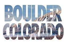 Boulder Colorado in Winter Art Print by Ben Klaus Design and Photography | Society6
