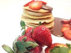 Finomságok Nikitől: Teljes kiőrlésű amerikai palacsinta Healthy Life, Pancakes, Cooking, Breakfast, Fit, Healthy Living, Kitchen, Morning Coffee, Shape