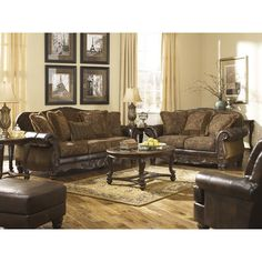Jackson Furniture Belmont Sofa And Chair Set 191700