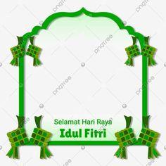 Islamic Frame Border Selamat Hari Raya Idul Fitri Typography With Ketupat Food Vector and PNG Eid Al Adha, Eid Eid, Islamic Celebrations, Ramadan Poster, Selamat Hari Raya, Christmas Border, Design Floral, Botanical Wedding Invitations, Free Infographic
