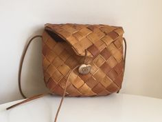A personal favorite from my Etsy shop https://www.etsy.com/listing/237127446/vintage-swedish-birch-bark-bag-vintage