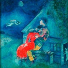 """""""Bana mektuplar yazdıran Bıçaklar çektiren bana Beni dosta düşman eden Kendimden korkutan beni O baş edilmez duygudur.""""  Afşar Timuçin-Ey Benim Güzel Sevdalım  Marc Chagall"""