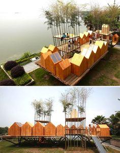 Bamboo Architecture Living China