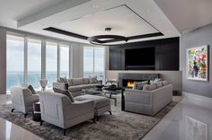Luxury Penthouse by Willoughby Construction | HomeAdore