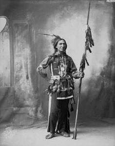 Hiding Woman - Arapaho - 1898
