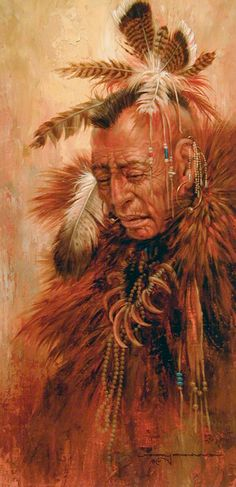Larry fanning Shaman Of The Pawnee