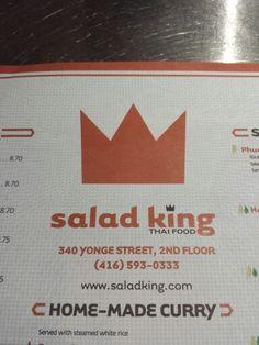 Best deal...best food King Thai, Thai Recipes, Places To Eat, Food, Meal, Essen, Hoods, Meals, Eten