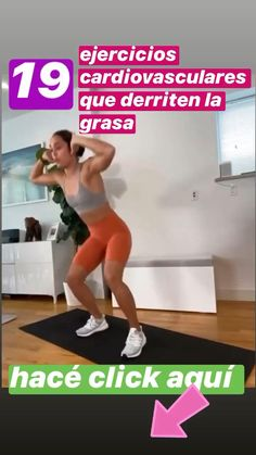 Ejercicios para hacer en casa Fitness Workouts, Gym Workout Videos, Fitness Workout For Women, Body Fitness, Kickboxing Workout, Dumbbell Workout, Body Workouts, Post Workout, Leg Workout At Home