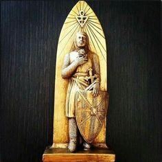 Rose Croix, Ritual Magic, Templer, Occult Art, Freemasonry, Knights Templar, Visionary Art, Christian Art, Magick