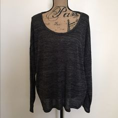 Old Navy Top This is a grey old navy top, size XL. It has an oversized fit. Brand new with no tags. Old Navy Tops