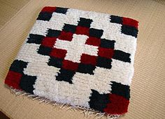 handwoven / chair mat