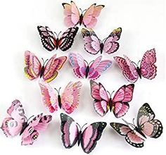 Gorgeous way to bring life into your space with these butterflies representing the Feng Shui element of fire. Available on Amazon. #ad