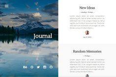 Journal - Elegant & Minimal by Stefan on @creativemarket