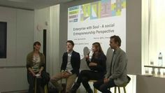 Enterprise with Soul- A Social Entrepreneurship Perspective  http://socialmediaweek.org/berlin/events/?id=89289#.UkNAuWTIKRJ  This panel introduces, discusses and evaluates business challenges and benefits social entrepreneurs face. The podium will showcase a multifaceted group of entrepreneurs who share their experiences, insights and thoughts about what, how and where social enterprises are headed.