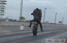 EPIC Drag Bike Wheelie Fail...click and watch vid!