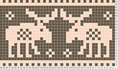 Výsledek obrázku pro moose knitting pattern