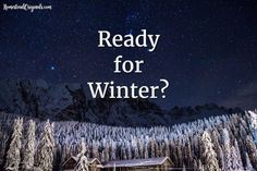 Get Prepared…Winter Vehicle Emergency Bags-- http://homesteadoriginals.com/4633-2/