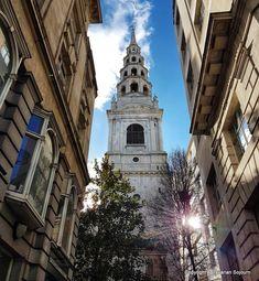 Journalist's Church, Fleet Street, London