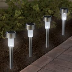 Brighten-Up With: Hanging Solar Lights | Light Decorating Ideas