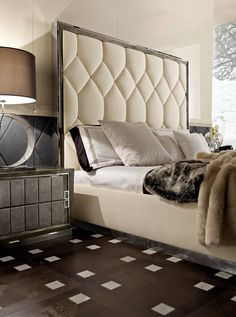 Discover master bedroom design ideas, curated by Boca do Lobo to Explore a selection of master bedroom design ideas, curated by Boca do Lobo to serve as inspiration for the modern interior designer. Bed Headboard Design, Headboards For Beds, Rustic Headboards, Farmhouse Bedroom Furniture, Home Decor Bedroom, Bedroom Ideas, Furniture Styles, Luxury Furniture, Diy Furniture