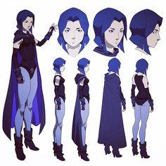 Raven #Raven #teentitans #jlvstt #justiceleague #dcentertainment #dccomics…
