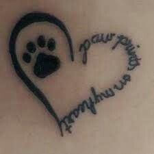 Paw print tattoo designs are very common among animal lovers and makes a symbolic gesture. So Let choose best print tattoos from shown designs. Neue Tattoos, Body Art Tattoos, Tatoos, Cat Paw Print Tattoo, Bird Tattoos, Butterfly Tattoos, Feather Tattoos, Dog Paw Tattoos, Dog Pawprint Tattoo