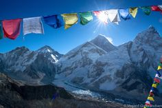 Sunrise over Mt. Everest. I have the utmost respect for this mountain.