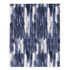 Paint Strokes Printed Rug | west elm