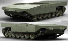Leopard 2 Revolution | WIP Armor « Egar – Siregraph.net