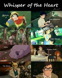 Whisper of the Heart characters