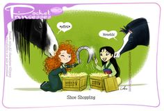 Pocket Princesses 180: Shoe ShoppingPlease reblog, do not repost...