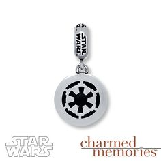 Charmed Memories Star Wars Dangle Charm Sterling Silver