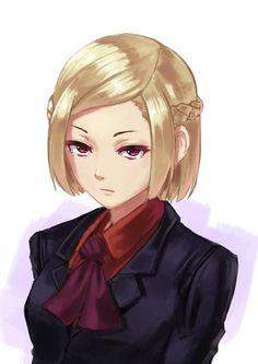 Akira Mado (真戸 暁, Mado Akira) is a former Associate Special Class Ghoul Investigator and the daughter of Kureo Mado. Kaneki, Anime Gifs, Manga Anime, Anime Art, I Love Anime, Awesome Anime, Akira Mado, Female Characters, Anime Characters