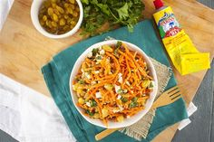 This Simple Moroccan Carrot Salad is perfect for picnics Plum Tomatoes, Cherry Tomatoes, Moroccan Carrots, Seafood Stock, Carrot Salad, Fennel Seeds, Picnics, Feta, Spicy