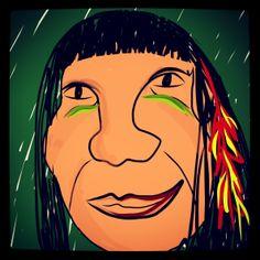 #tupinamba #indio #brasil #indigena #design #ipad #hand #desenho