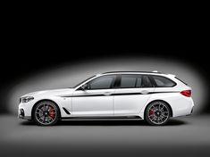BMW voorziet nieuwe 5-serie Touring van M-Performance onderdelen