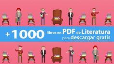 Disfruta de esta increíble colección de más de 1000 libros en PDF de dominio público para estudiantes y amantes de la Literatura . ¡Es grat...