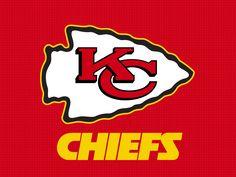 Kansas City Chiefs Logo http://www.kcchiefs.com/ http://pinterest.com/nfldraftday/