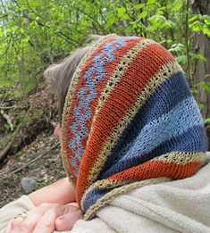 Egypt on my Needles: (Ethnic Knitting Adventures): Knitty First Fall 2014 Love these colors together