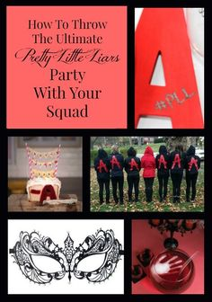 Plan the ultimate Pretty Little Liars party with your squad with these tips and ideas! Who's ready to celebrate the return of the series?