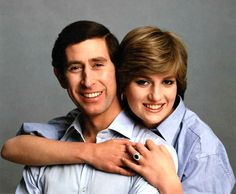 """1981 - In happier times, Charles & Diana shared their engagement news with this loving, informal engagement photo. """"It wasn't a difficult decision,"""" said Diana of accepting the prince's proposal. """"It's what I want."""""""