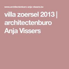 villa zoersel 2013   architectenburo Anja Vissers