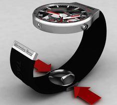 TAG-Heuer Formula-1 Watch | Yanko Design