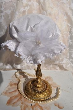 Baptism Victorian Shower Caps/Silk by ElenaCollectionUSA on Etsy