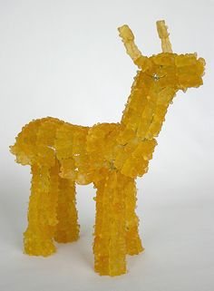 Deer Amber by YaYa Chou: Made of Gummi Bears.