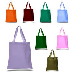 High Quality Promotional Canvas Tote Bags - TOB380 Alternative colors beec644ff5e5e