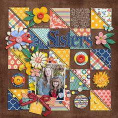 Sweet Shoppe Designs :: NEW Releases :: New Releases - 2/22 :: Brook's Templates - Singleton 02 - Looking Sideways