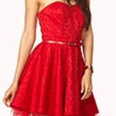 Red Formal Dress Nwt. Prom Perfect.